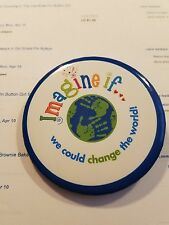 Girl Scout Cookie Pin Little Brownie Bakers Imagine If We Could Change the World