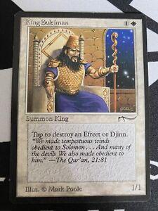 Magic The Gathering King Suleiman Arabian Nights, Rare MGT