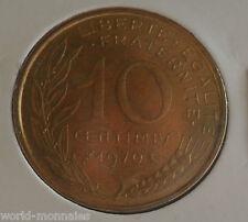 10 centimes marianne 1970 : SPL : pièce de monnaie française