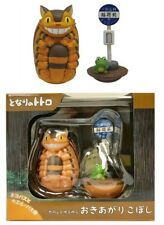 Ensky My Neighbor Totoro Roly-Poly Yura Okiagari Tumble Toy Figure Set Cat Bus
