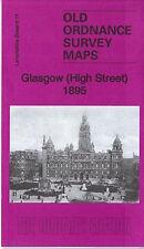 Glasgow (High Street) 1895: Lanarkshire Sheet 6.11a by Gilbert Bell (Sheet map,