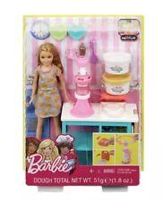 Mattel Barbie Stacie Cooking & Baking Breakfast Chef Doll & Playset Dreamhouse