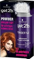 1x Schwarzkopf Got2b Volumizing Styling Powder Maximum Volume At The Roots 10g