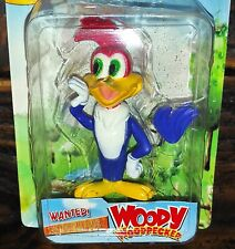 "Vintage Very Rare Woody Woodpecker Walter Lantz Figure 4"" & Card 7"" Tall Moc"