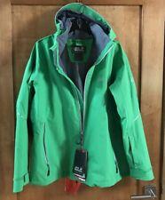 Jack Wolfskin Exolight 3-in-1 Evergreen Coat Jacket Womens Size 2XL