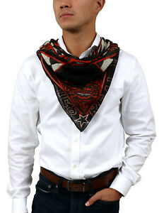 Givenchy 1212GV SD257 1 Black/ Red Scarf