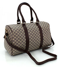 Unisex Checked Design Holdall Weekend Bag Cabin Hand Luggage Travel Bag