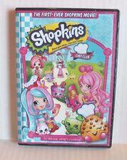 Shopkins Chef Club DVD Movie NEW