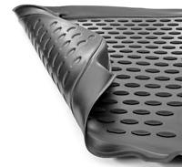 3D Gummimatten Fußmatten für NISSAN Navara 2015- pick-up-4 tlg.
