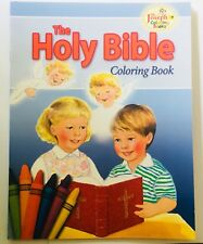 """THE HOLY BIBLE"" - CHILDREN'S CATHOLIC COLOURING BOOK"