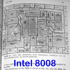 1976 Intel 4004 8008 8080 IMP-16 F8 2650 PACE CP1600 CPU Technology DEC PDP-11