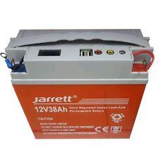 BATTERIA RICARICABILE ERMETICA CON DISPLAY PIOMBO 12V 38Ah USB POWER BANK UPS
