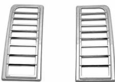 New Putco Tail Lamp Covers Chrome 400809 Pair / For 2003-2009 Hummer H2