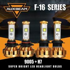 AUXBEAM 9005+H7 High&Low LED Headlight Bulb Combo 6000K for Mazda CX-7 2007-2012