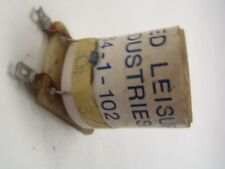 NOS ALLIED LEISURE PINBALL MACHINE 264-1-102 11 OHM COIL SOLENOID WITH DIODE