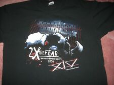 NWOT Universal Halloween Horror Nights 2X The Fear 2004 Adult Large T-Shirt