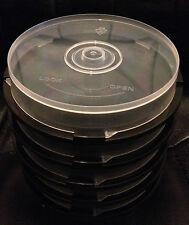 Disco 10 vacía de CD/DVD/BD-R Eje de almacenamiento Bañera/Caja De Torta-Paquete de 5