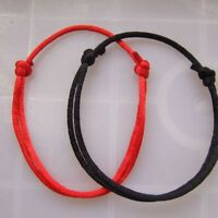 Men Women Lucky Handmade Simple Jewelry String Bracelet Adjustable Kabbalah
