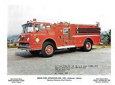 Joppa-Magnolia Vol Fire Dept pumper truck, Harford Co MD  Orig 8.5x11 Photo B361
