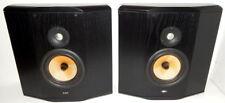 B&W Bowers & Wilkens CDM SNT rear surround effects speakers