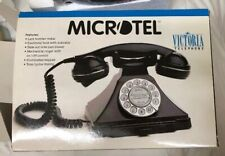 Microtel Telephone Model 944 Victoria Retro Vintage Style Rotary Push Button