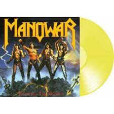 Manowar 'Fighting The World' Yellow Vinyl - NEW