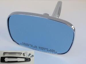 CONVEX CLEAR SHOT V2 Blue Anti Glare Mirror GM Square Side Rear View Outer Door