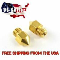 2 x Replacement MK8 0.4mm Nozzle 3D Printer HotEnd for Reprap or Makerbot