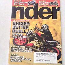 Rider Magazine Buell Lightning Long XB12Ss September 2005 061017nonrh