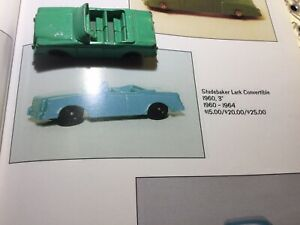 "1960 Tootsie Toy Studebaker Lark Convertible 3"" Long"