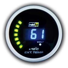 Raid HP Abgas Temperatur Anzeige Nightflight Digital Blau /  Blue  52mm