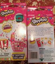New shopkins card game go shopping  like go fish newly released