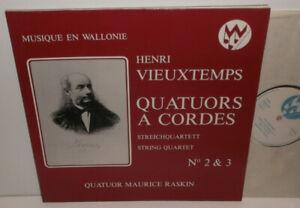 MW 80039 Vieuxtemps String Quartets Nos. 2 & 3 Quatuor Maurice Raskin