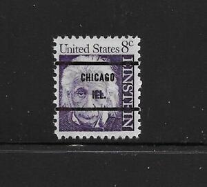 "Scarce Scott #1285 Single VF Mint NH PRECANCELED ""CHICAGO ILL."", PSS Type 71"