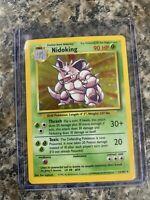 Pokemon Nidoking Base Set Holo 11/102