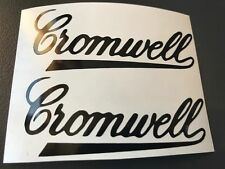 2 STICKER AUTOCOLLANT CROMWELL MOTO TUNING CASQUE bol SCOOTER biker