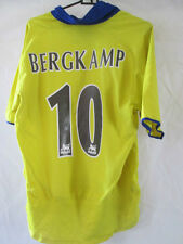 Arsenal 2002-2004 Bergkamp 10 Away Football Shirt Small /34692