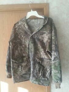 VINTAGE SPARTAN USA MADE REALTREE CAMOUFLAGE HUNTING JACKET MEN'S SIZE MEDIUM