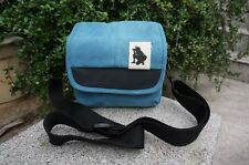 Blue messenger /canvas bag case for Nikon Coolpix B500 B700 DL24-85 DL18-50 P900