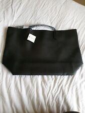 Macy's Black Large Tote Shopper Bag. Genuine. BNWT