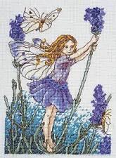 DMC Cross Stitch Kit - Flower Fairies - The Lavender Fairy