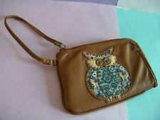 MUDD Zip-Around Wristlet Wallet -Owl