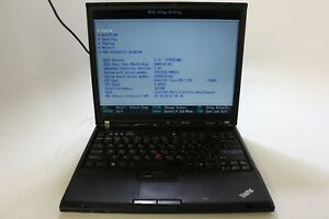 """Lenovo ThinkPad T60 CORE2 DUO T5600 1.83GHZ 3GB NO HDD 14""""  (0105)"""