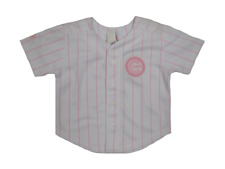 Majestic Chicago Cubs Toddler Pink Girls Jersey