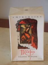 NEW IN SEALED BOX VINTAGE Myrurgia nueva  Maja 3.5 oz colognoa perfume  RARE!