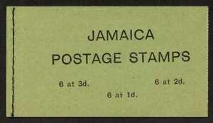 Jamaica SB15 (217a,9a21a) MNH Flowers, Flags