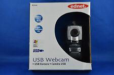 Ednet 87200 Webcam Videochat Integriertes Mikrofon USB 30 Bilder/s 640x480 OVP