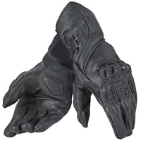 Dainese Veloce Gloves Black Leather Mens Motorbike Gloves READ SIZE GUIDE PLEASE