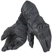 Dainese Veloce Gloves Black Leather Mens Motorbike Motorcycle Gloves (S - XXL)