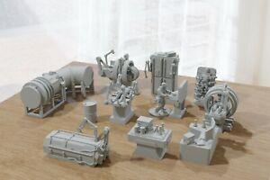 Miniature Gaming Tabletop RPG - Human Research Laboratory Terrain Set - 28mm